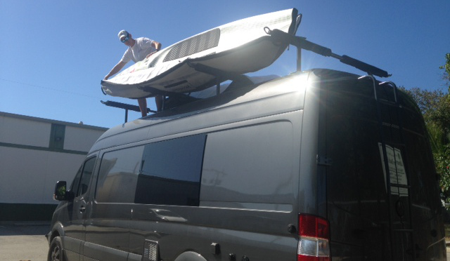 Martin VANdal Paddle Roof Rack