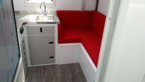 Lite Industries Interior Camper Truck