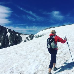 Flat Top Mountain Hike - Snow Fields