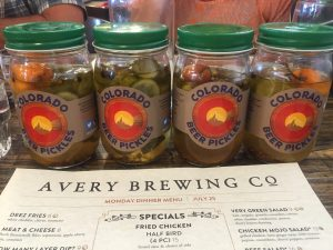 Colorado Beer Pickles
