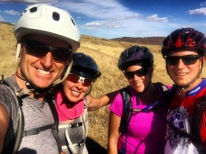 Mountain Biking with Friends in Colorado