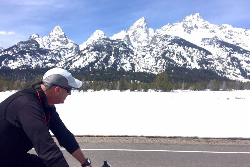 Martin - April Teton Bike Ride
